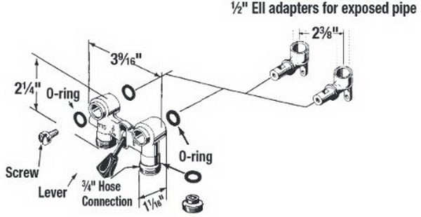 How To Fix A Leaking Washing Machine On/Off Water Valve Behind Washer