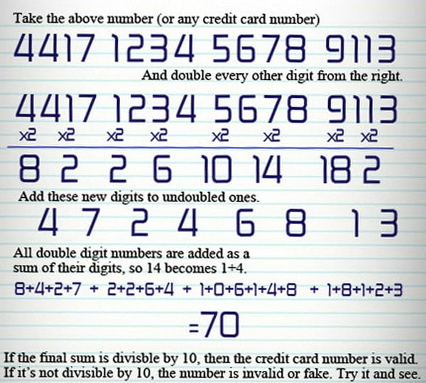 What Do The Numbers On My Credit Card Mean? Decode CC Digits