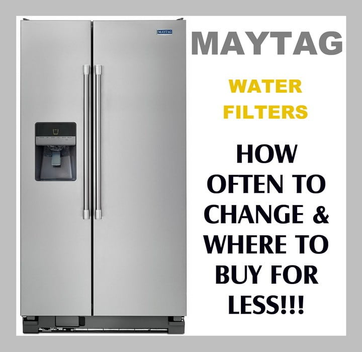 Maytag Refrigerator Water Filters - How Often To Replace Filter?
