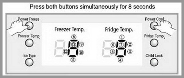 Refrigerator Display Panel Is Blank Not Working - How To Reset?