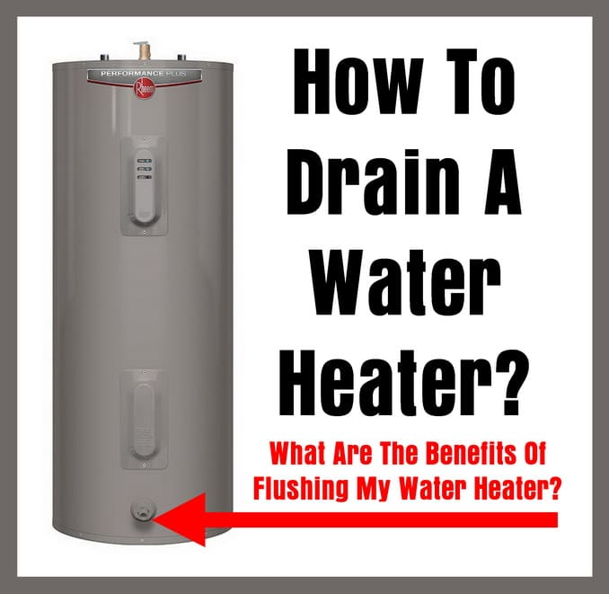 How To Drain A Water Heater Removeandreplacecom