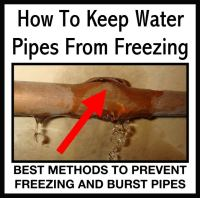 Simple Ways To Keep Water Pipes From Freezing ...