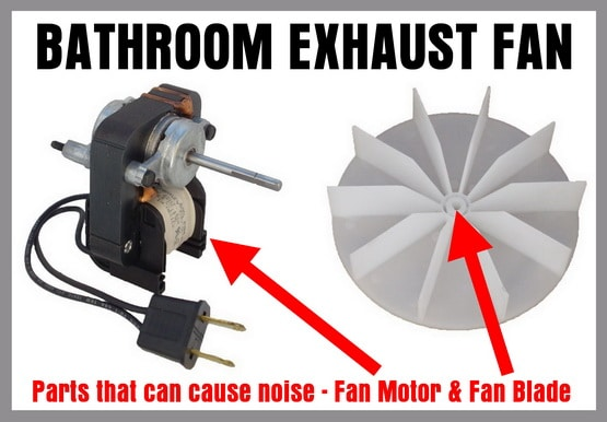 Noisy Bathroom Exhaust Fan - How To Easily Fix Without Replacing