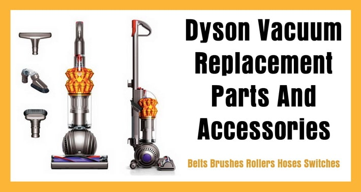Dyson Vacuum Replacement Parts And Accessories \u2013 Belt Brush Roller
