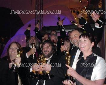 Lord of the Rings Oscar winners 2