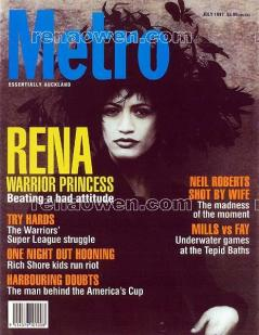 Metro magazine cover, July 1997