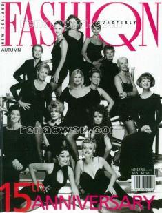 New Zealand Fashion Quarterly cover