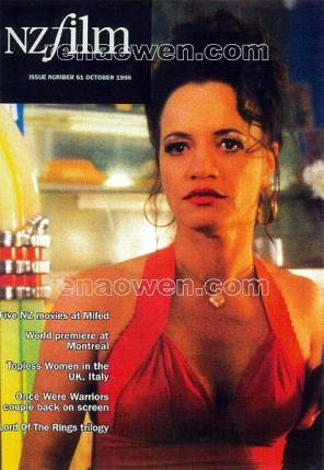 New Zealand Film magazine cover, October 1998 -