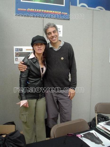 Rena and Paul Norell (King of the Dead from Return of the King)