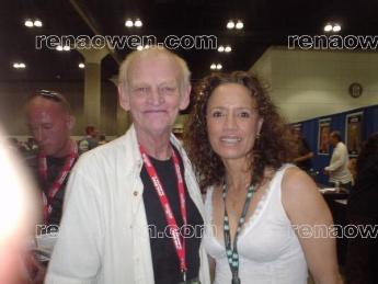 Rena and Star Wars producer Robert Watts