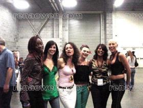 Rena with Mary Oyaya, Orli Shoshan, Leanna Walsman, Nalini Krishan and Sandi Finlay