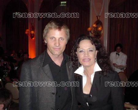 Rena with Viggo Mortensen (Lord of the Rings)