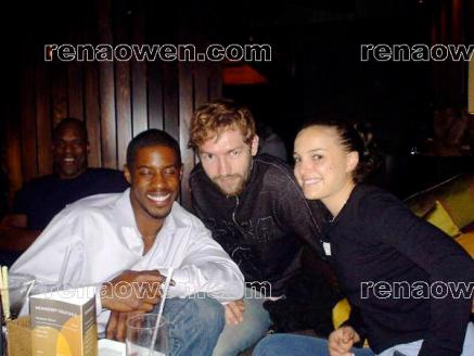 Revenge of the Sith actors Ahmed Best, Joel Edgerton and Natalie Portman