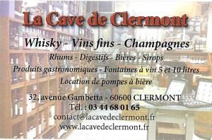 Carte - La Cave de Clermont