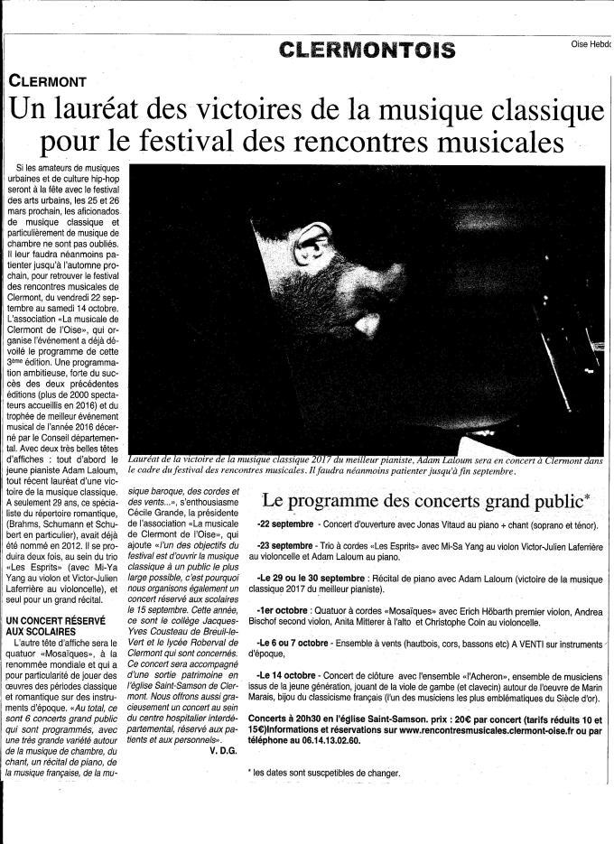 Oise Hebdo 1er mars 2017