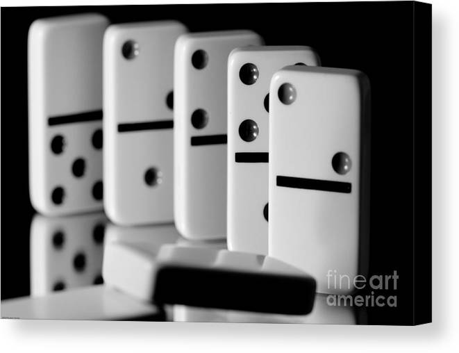 The Domino Effect Canvas Print / Canvas Art by Charles Dobbs