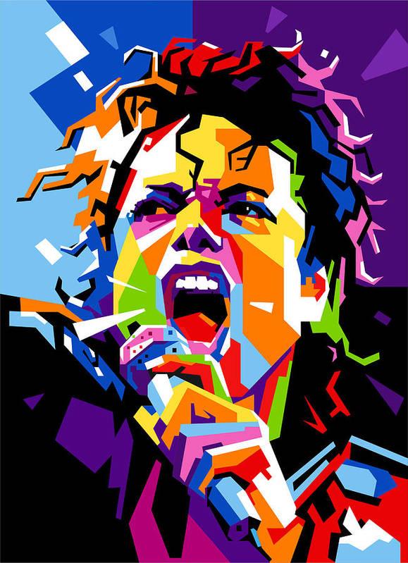 Break Heart Wallpaper Hd Michael Jackson Art Print By Ahmad Nusyirwan