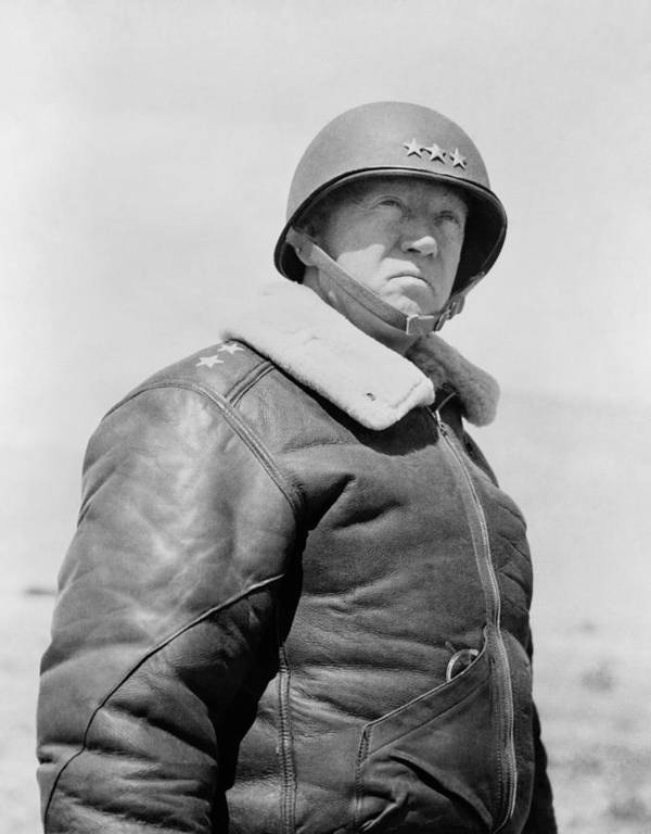 Iphone X Frame Wallpaper General George S Patton Art Print By War Is Hell Store