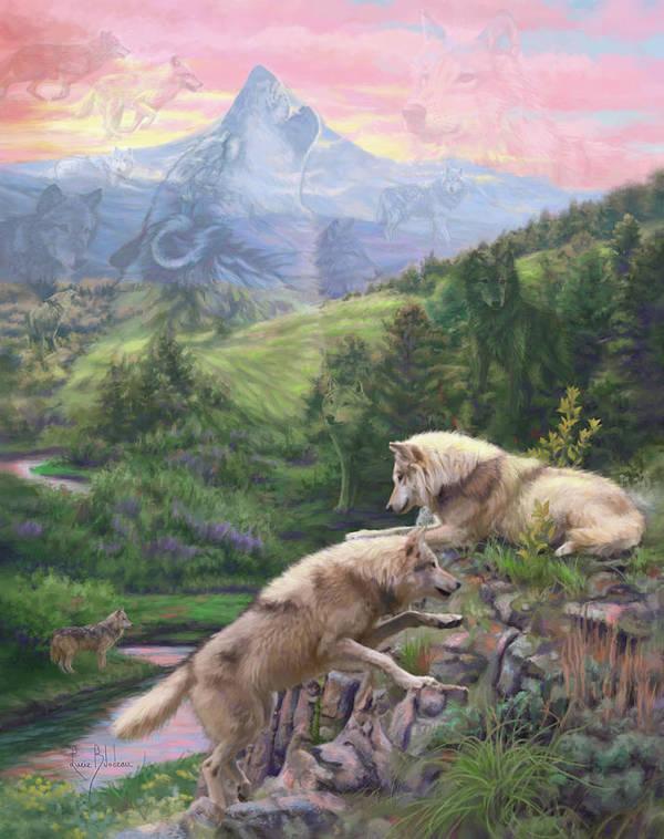 Wood Iphone 6 Wallpaper Hidden Animals Paintings Fine Art America