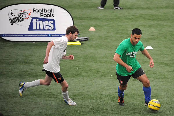Soccer - Streetgames Football Pools Fives - Cardiff House Of Sport