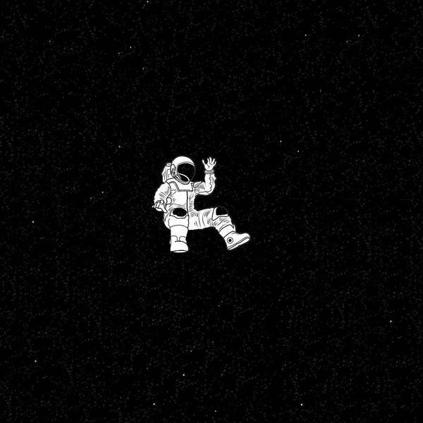 Astronaut Iphone Wallpaper Lost Astronaut Art Print By Roberta Ferreira