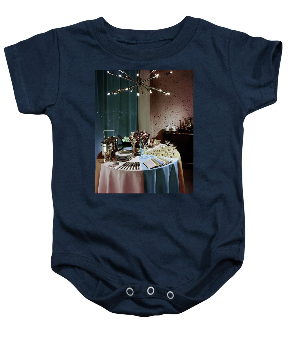 Buffet Table For Sale A Buffet Table At A Party Onesie For Sale By Wiliam Grigsby