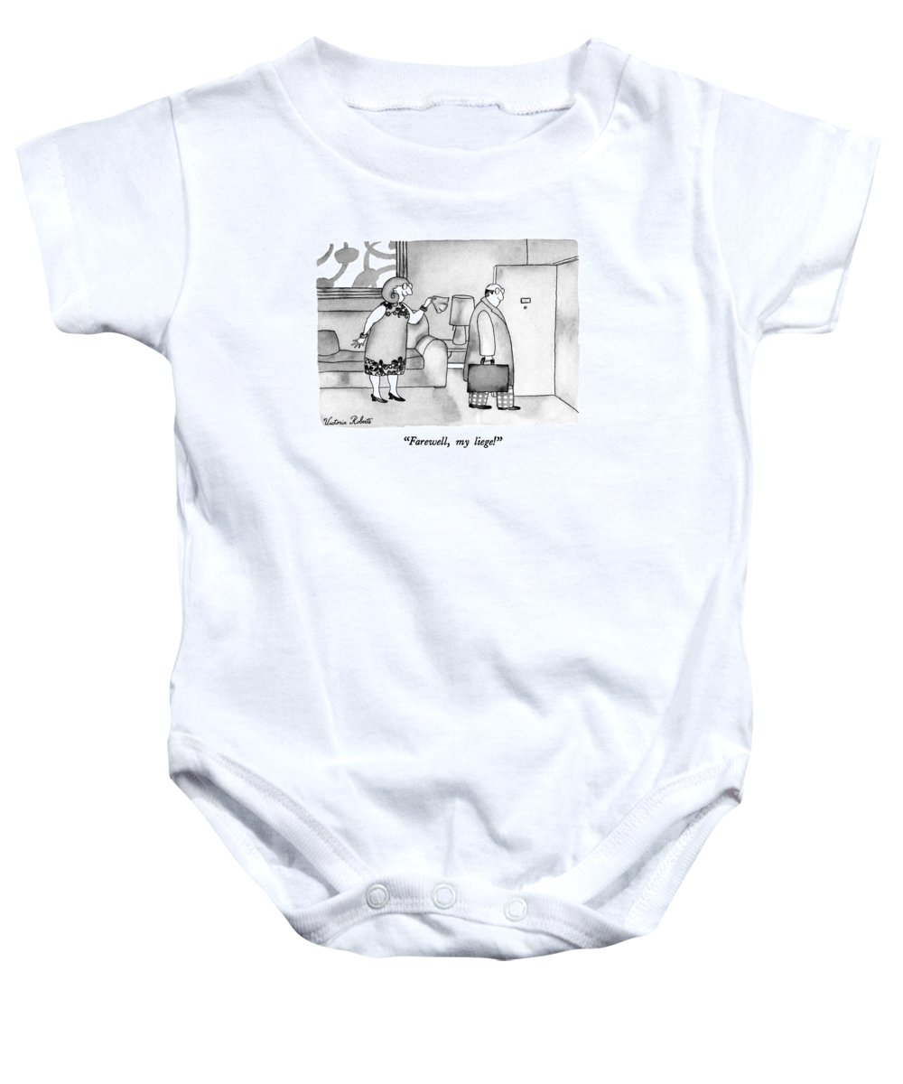 Farewell My Liege Onesie For Sale By Victoria Roberts
