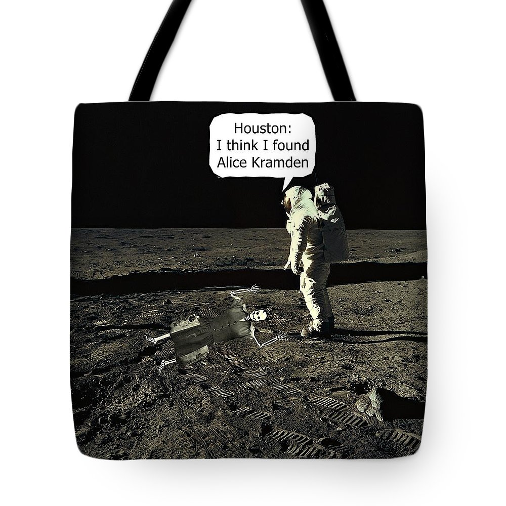 Dehner Shop Alice Kramden On The Moon Tote Bag