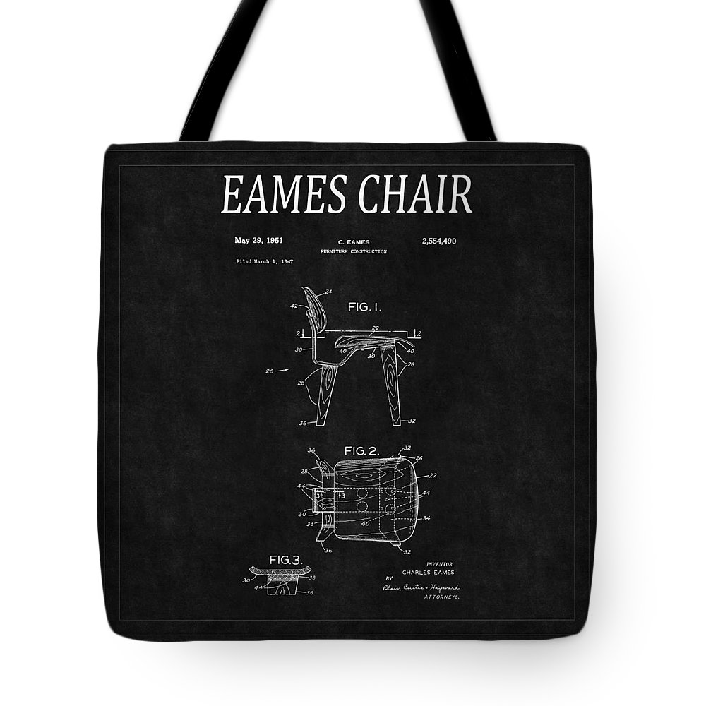 Eames Chair Patent Eames Chair Patent 2 Tote Bag