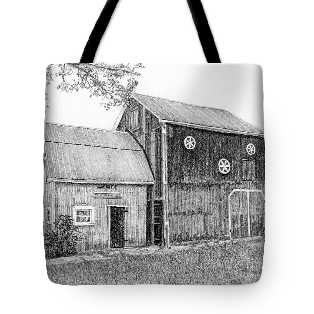 Old Barn Tote Bag For Sale By Sarah Batalka