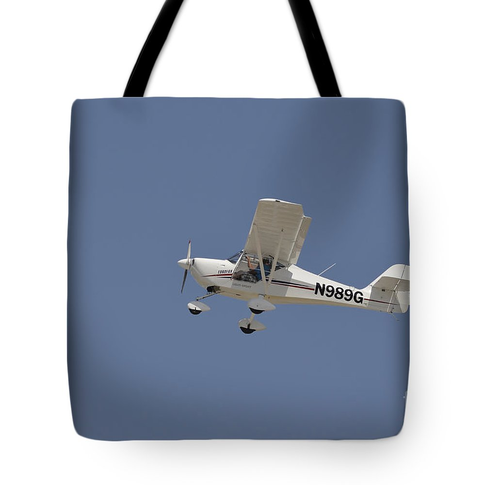 Light Sport For Sale An Aeropro Eurofox Light Sport Aircraft Tote Bag