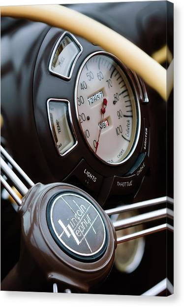 1942 lincoln zephyr steering wheel