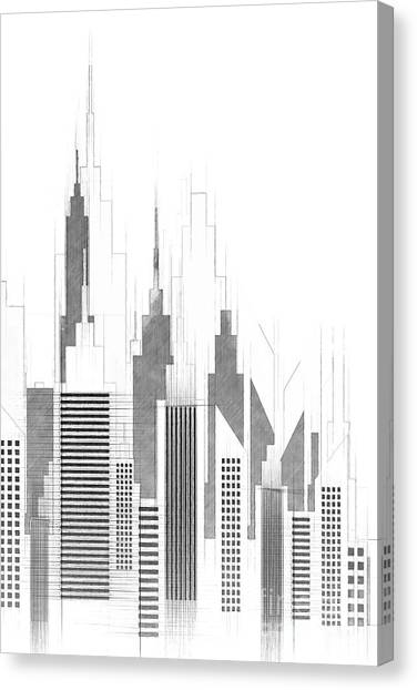 Architectural Sketches Canvas Prints (Page #6 of 21) Fine Art America