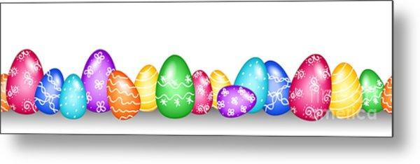 Seamless Easter Egg Border Digital Art by Sylvie Bouchard