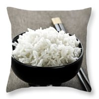 Rice Throw Pillows for Sale
