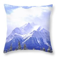 Mountains Throw Pillows for Sale