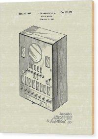 Vending Machine 1940 Patent Art Drawing by Prior Art Design