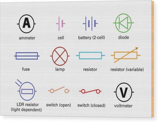 Circuit Diagram Using Standard Circuit Symbols Wiring Diagram
