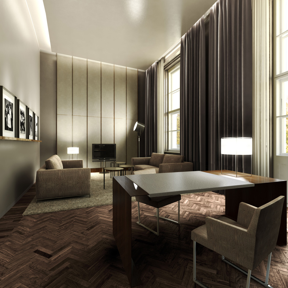 Berlin Interior Design Architectural Rendering 3d Interior Design Of A Five Star Hotel