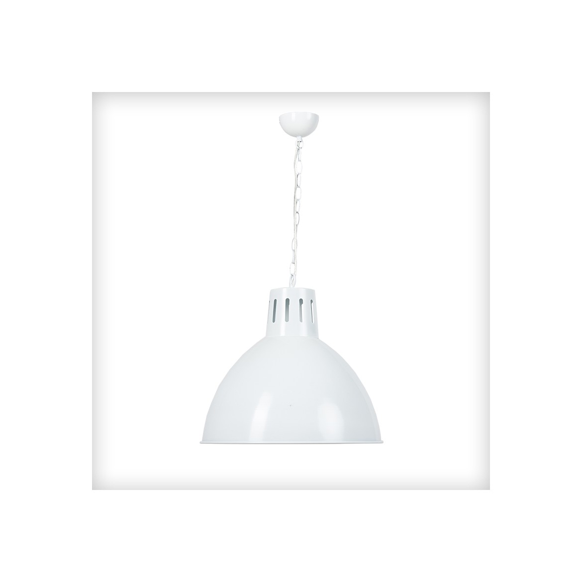 Luminaire Blanc White Indus Billiards Light