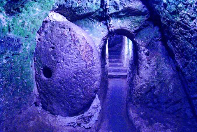 From the underground cities of Goreme, Turkey