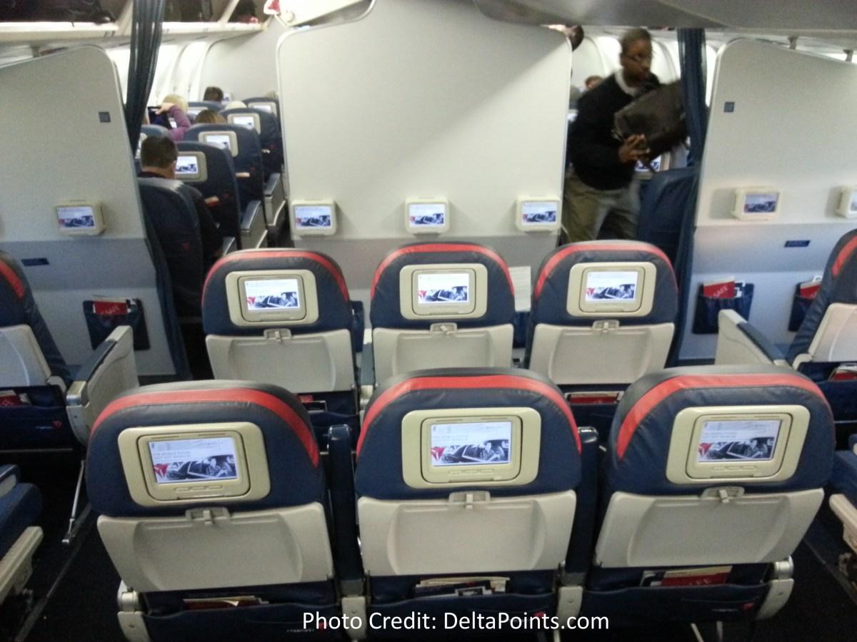 Delta 767 300 Domestic Comfort Plus Seat 4 Delta Points