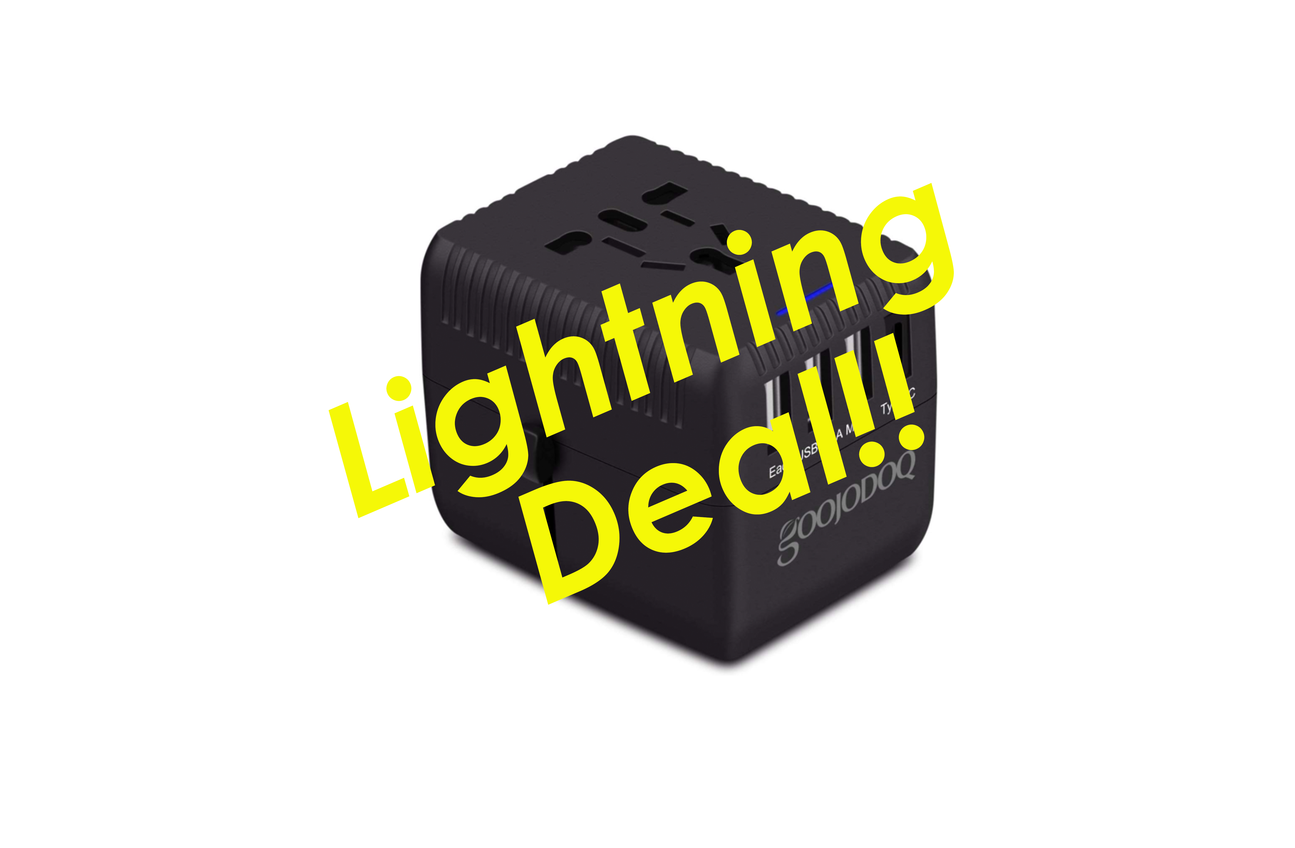 Travel Adapter Amazon Expired Amazon Lightning Deal Hurry Travel Adapter With