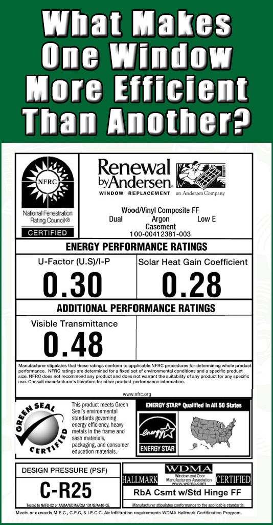 Renewal by andersen new jersey replacement windows for What makes a window energy efficient