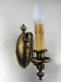 Edwardian Electric Candle Sconces (Pair)