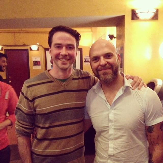 Me and David King