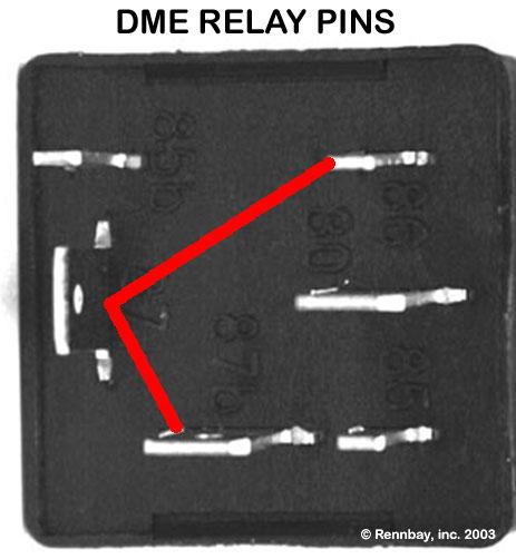 Porsche 944 DME Relay Info  Troubleshooting