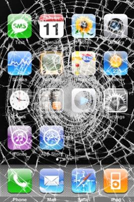 Cracked Screen Wallpaper Iphone 6 R 233 Parer Son Iphone Cass 233 224 Rennes 171 Rennes Des Bons Plans