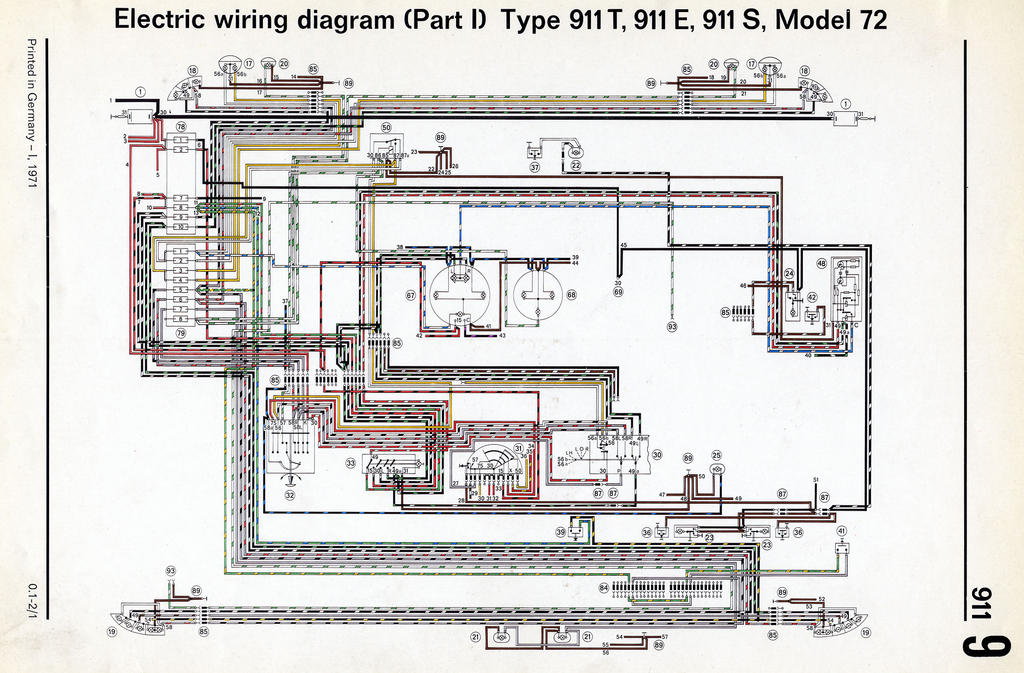 1983 Porsche 911 Wiring Diagram Wiring Diagram