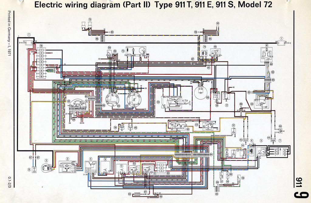 72 Porsche Wiring Diagram - Wiring Diagrams